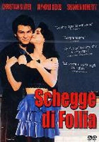 La copertina di Schegge di follia (dvd)