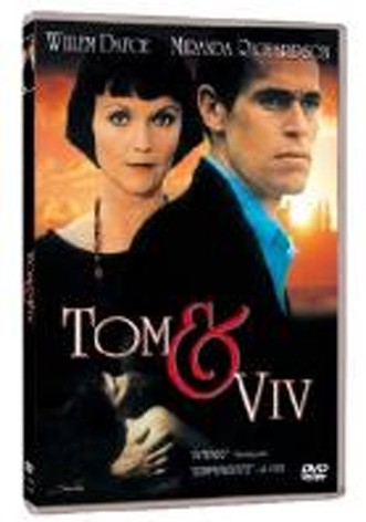 La copertina di Tom e Viv (dvd)