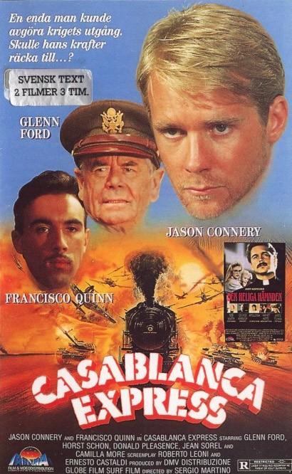 La locandina di Casablanca Express