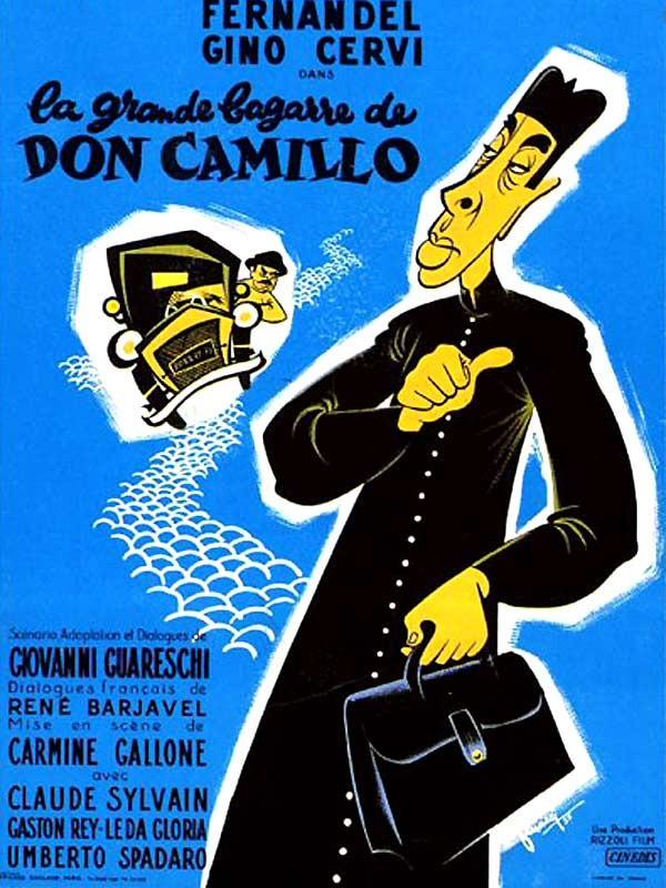 La locandina di Don Camillo e l'onorevole Peppone