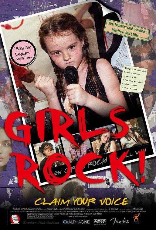 La locandina di Girls Rock!
