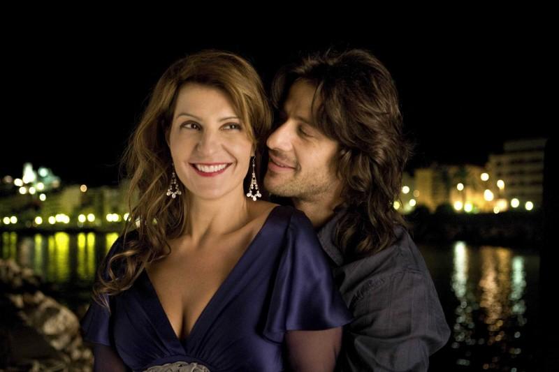 Nia Vardalos e Alexis Georgoulis in un'immagine del film My Life in Ruins