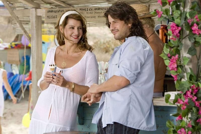 Nia Vardalos e Alexis Georgoulis in una scena del film My Life in Ruins
