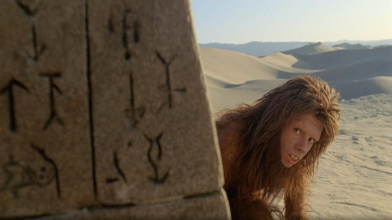 Una scena del film Land of the Lost