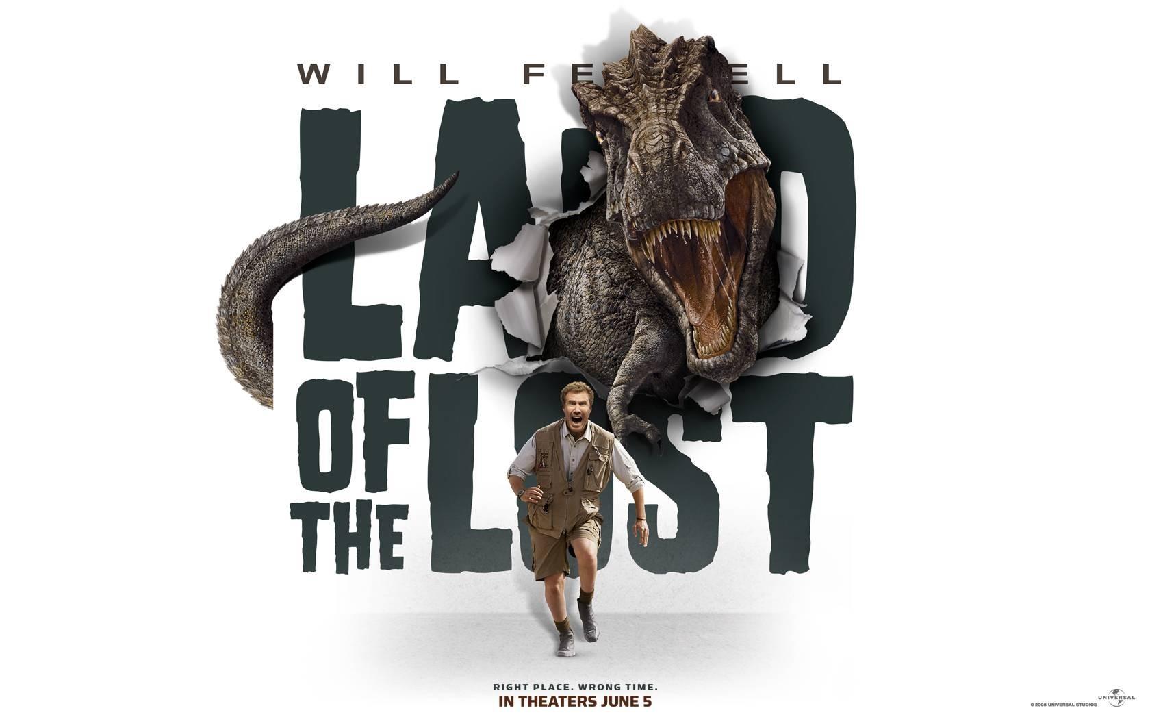 Wallpaper del film Land of the Lost con Will Ferrell