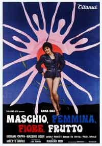 La copertina di Maschio,femmina,fiore,frutto (dvd)