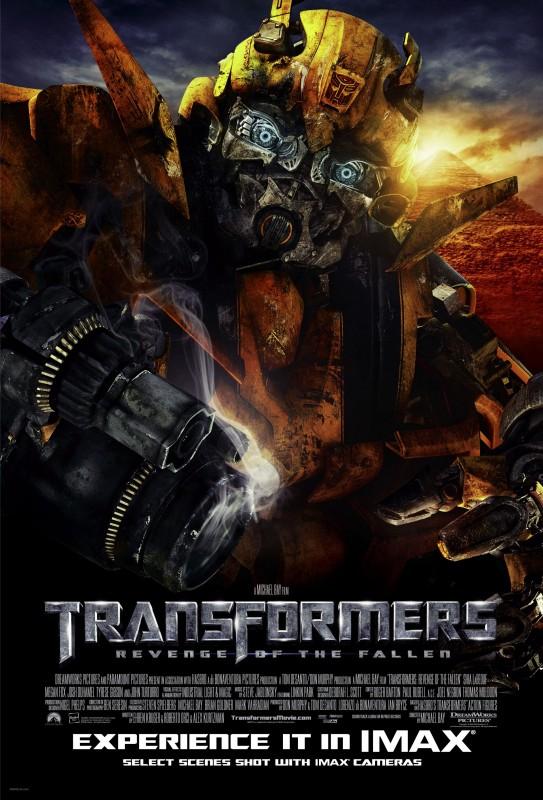 Nuovo poster internazionale per  Transformers - La vendetta del caduto