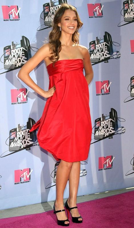 Jessica Alba agli MTV Movie Awards 2007