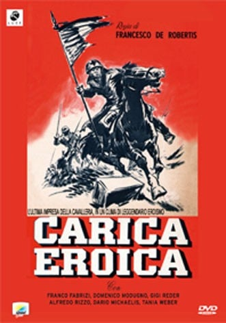 La copertina di Carica eroica (dvd)