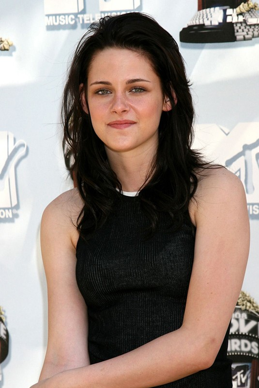 Un primo piano di Kristen Stewart agli MTV Movie Award 2008