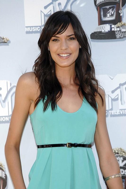 L'attrice Odette Yustman agli MTV Movie Award 2008