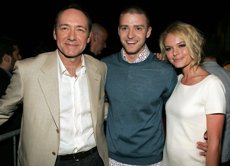 Kevin Spacey, Justin Timberlake e Kate Bosworth agli MTV Movie Awards 2006
