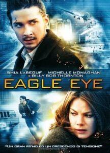 La copertina di Eagle Eye (dvd)