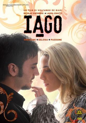 La copertina di Iago (dvd)