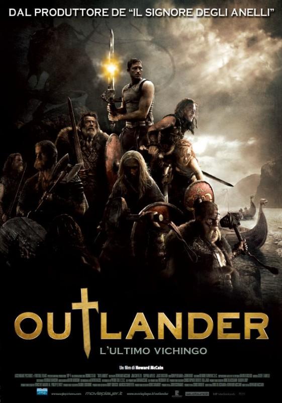 la locandina italiana di Outlander - L'ultimo vichingo