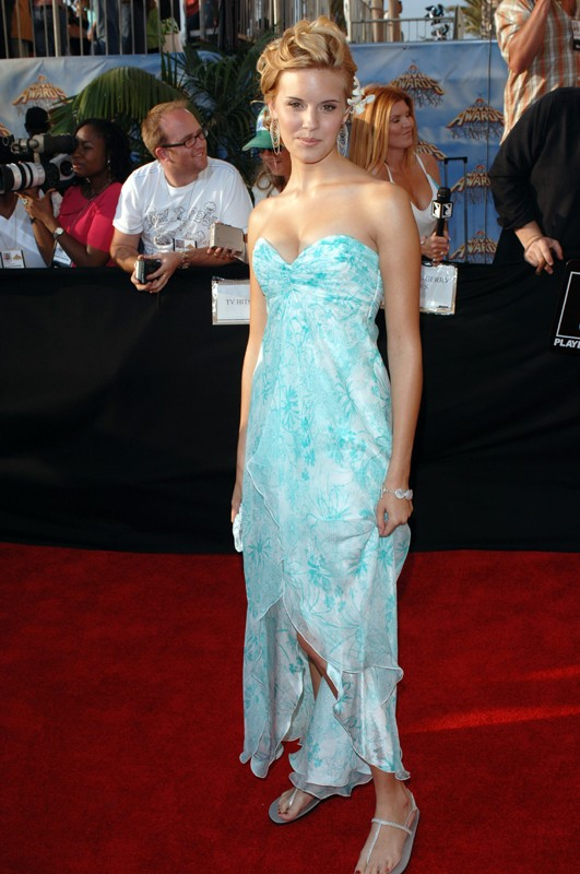 Maggie Grace agli MTV Movie Awards 2005