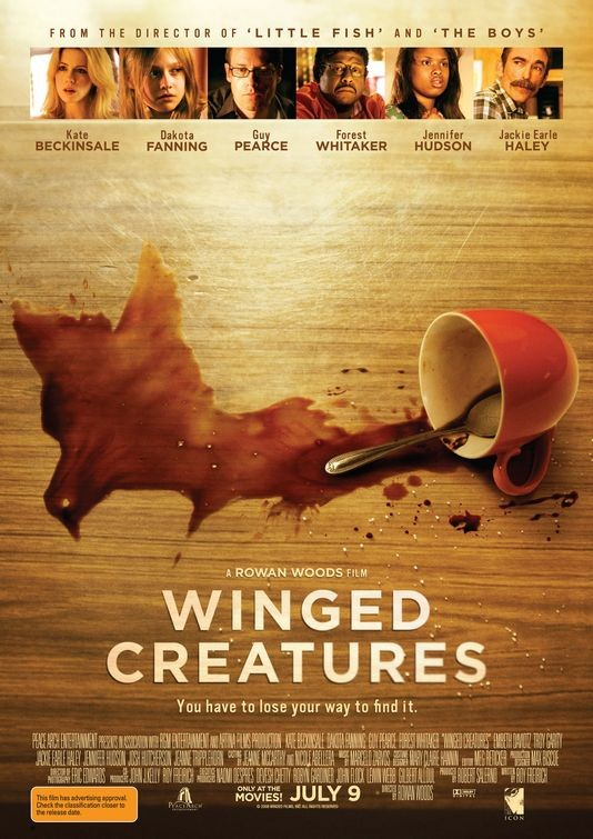 Poster australiano per Winged Creatures