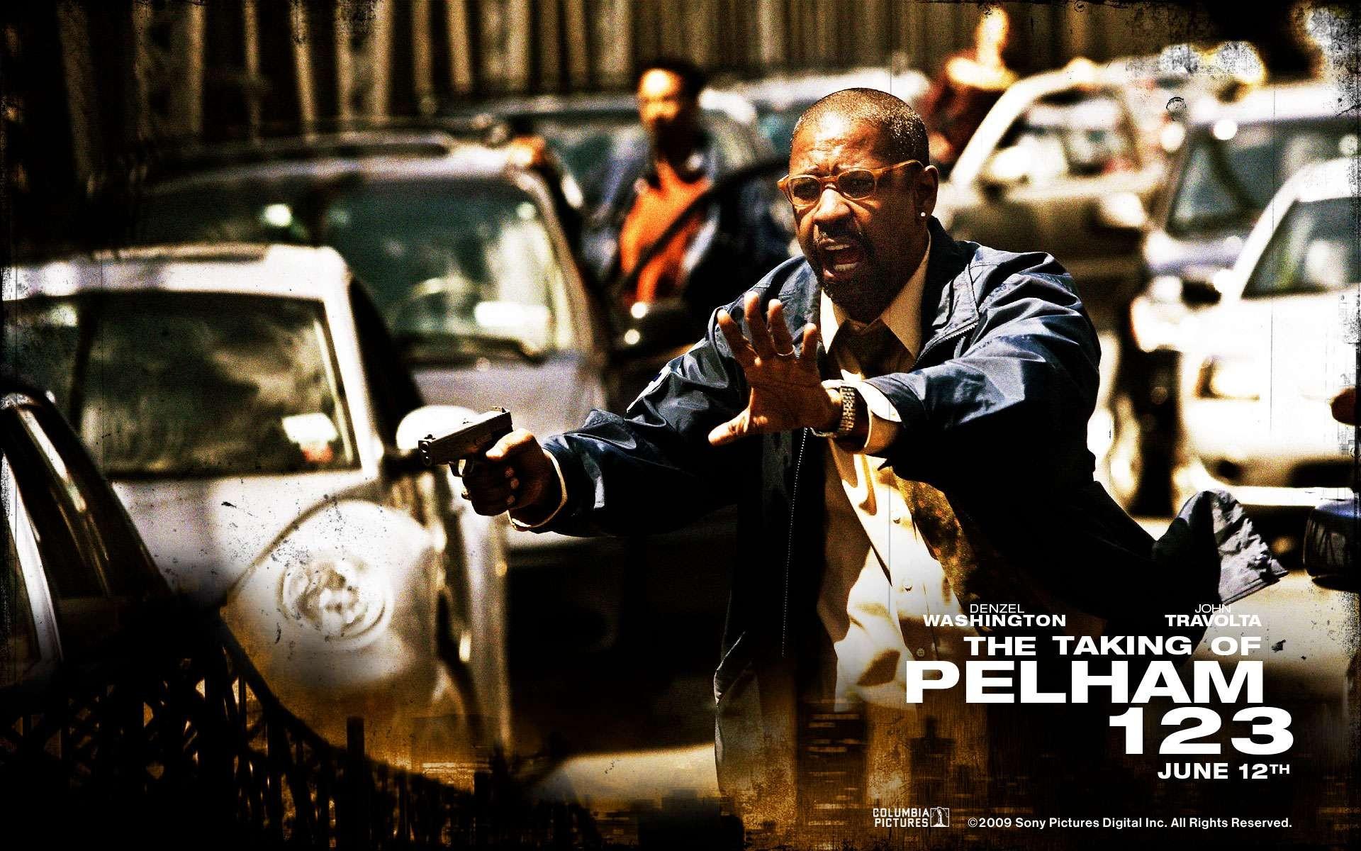 Un wallpaper di Pelham 1-2-3: Un ostaggio al minuto con Denzel Washington