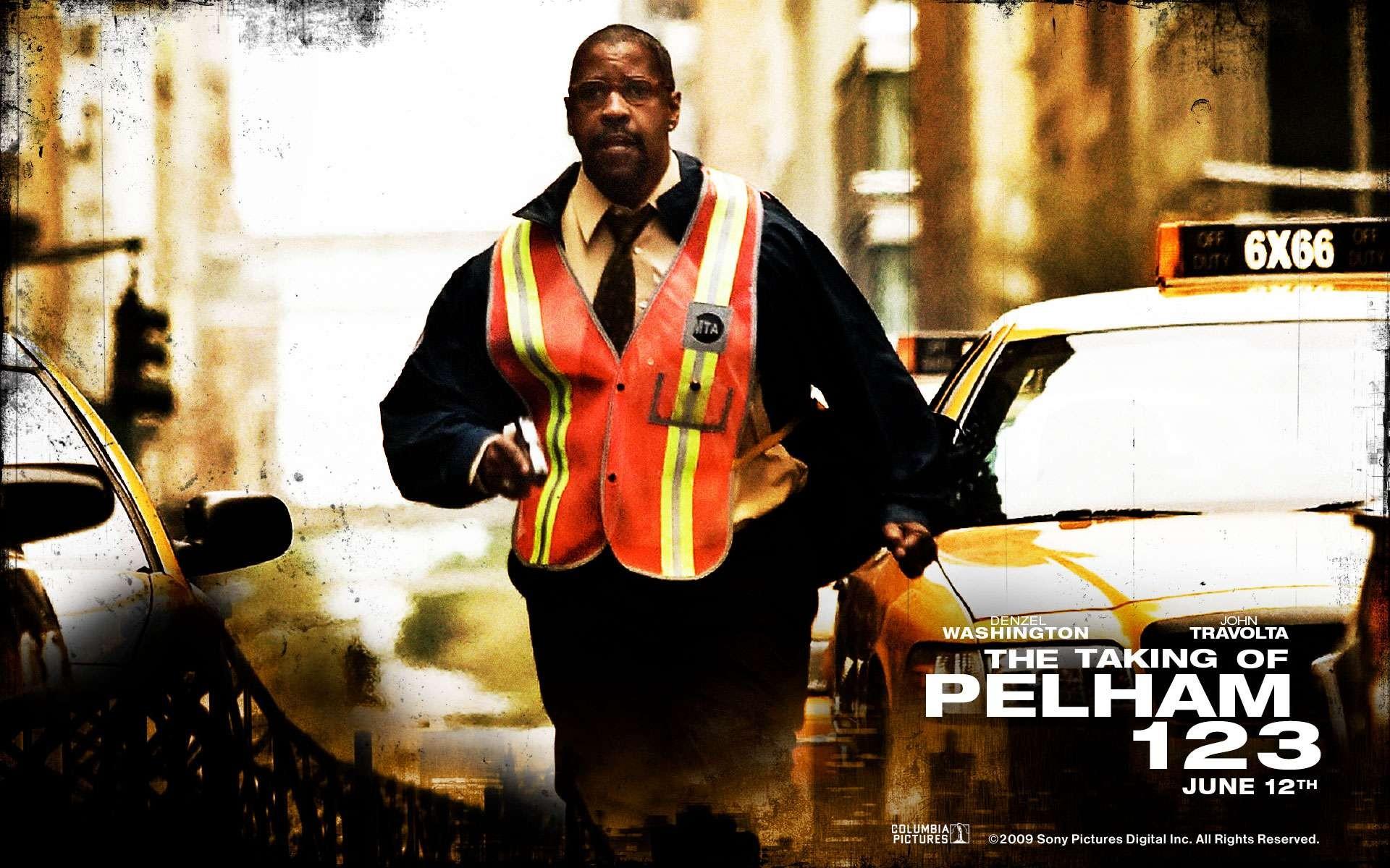 Wallpaper del film Pelham 1-2-3: Un ostaggio al minuto con Denzel Washington