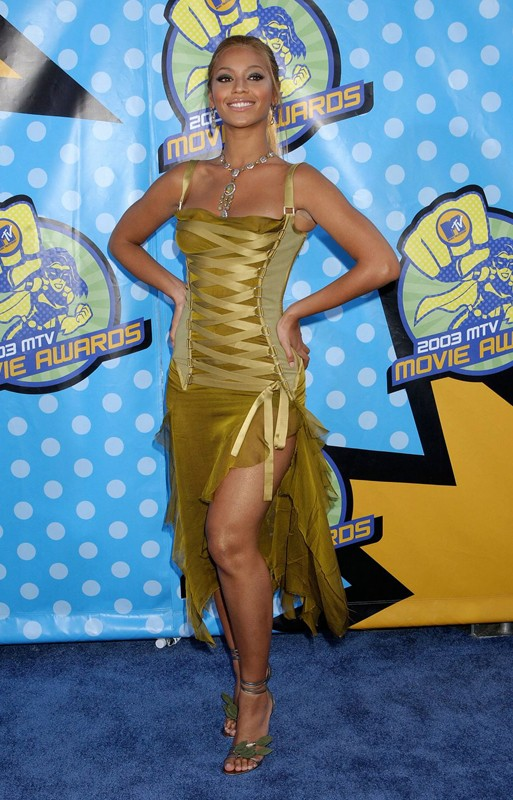 Beyoncé Knowles agli MTV Movie Awards 2003