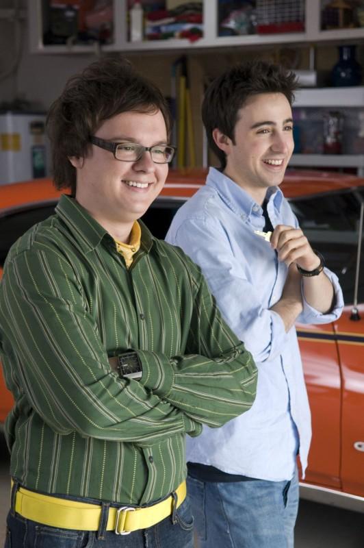 Clark Duke e Josh Zuckerman in un'immagine della commedia Sex Movie in 4D