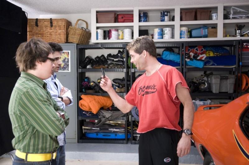 Clark Duke, Josh Zuckerman e James Marsden in un'immagine della commedia Sex Movie in 4D