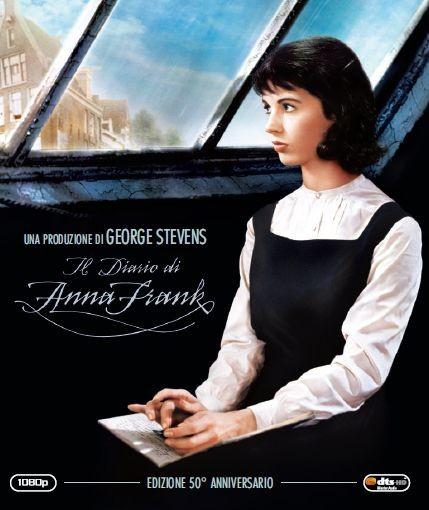 La copertina di Il diario di Anna Frank (blu-ray)