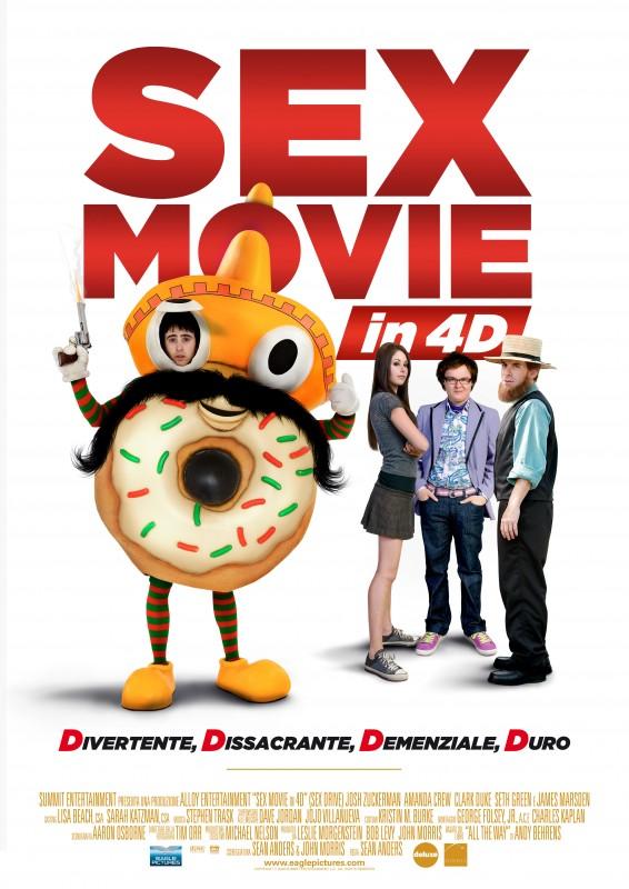 Locandina italiana di Sex Movie in 4D