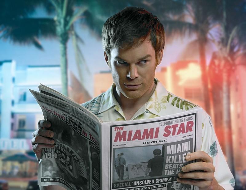 Michael C. Hall nella 2 stagione nel telefilm Dexter