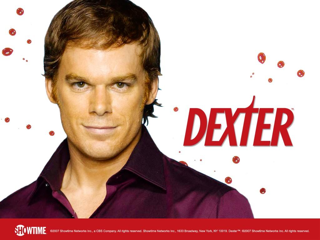 Un wallpaper della season 2 di Dexter con Michael C. Hall