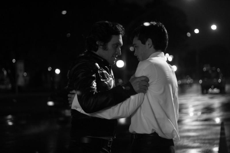 Vincent Gallo e Alden Ehrenreich in una scena del film Tetro, diretto da Francis Ford Coppola