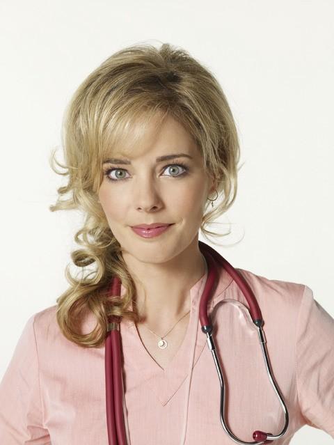 Christina Moore in una foto promozionale della serie TV Hawthorne