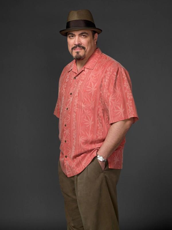 David Zayas in un'immagine promozionale della terza stagione della serie tv Dexter