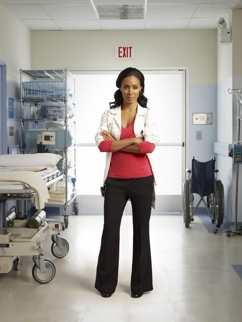 Jada Pinkett Smith in uno scatto promozionale della serie Hawthrone