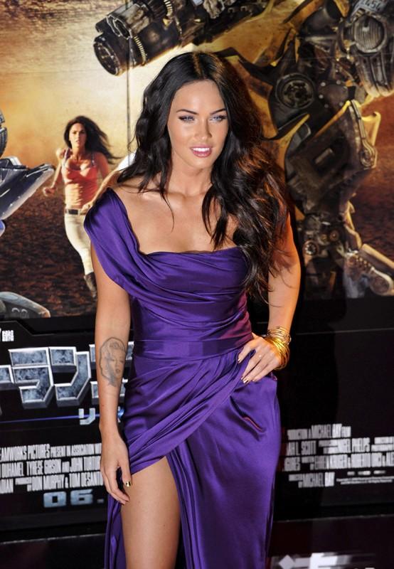 L'attrice Megan Fox alla premiere del film 'Transformers: Revenge of the Fallen', a Tokyo, l'8 Giugno 2009