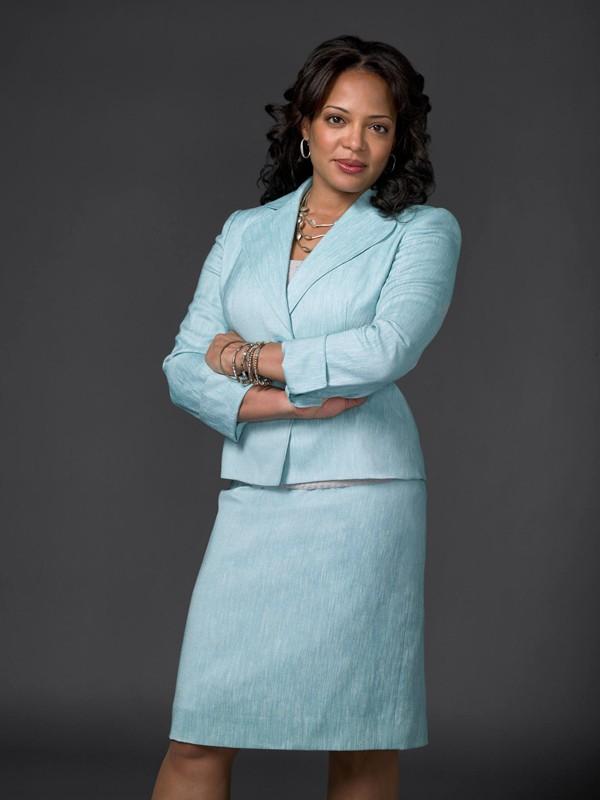 Lauren Vélez in una foto promozionale per la terza stagione di Dexter