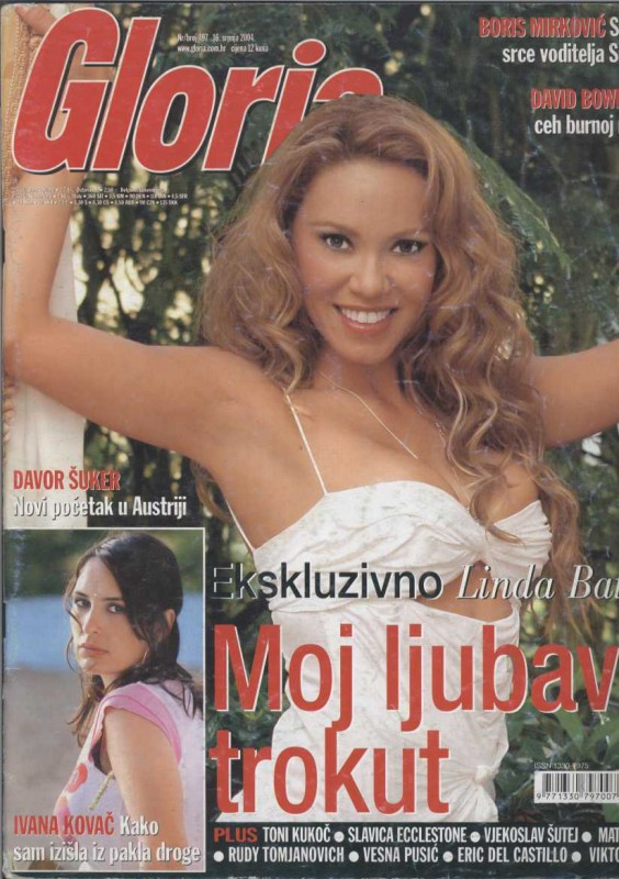 Linda Batista sulla cover di Gloria