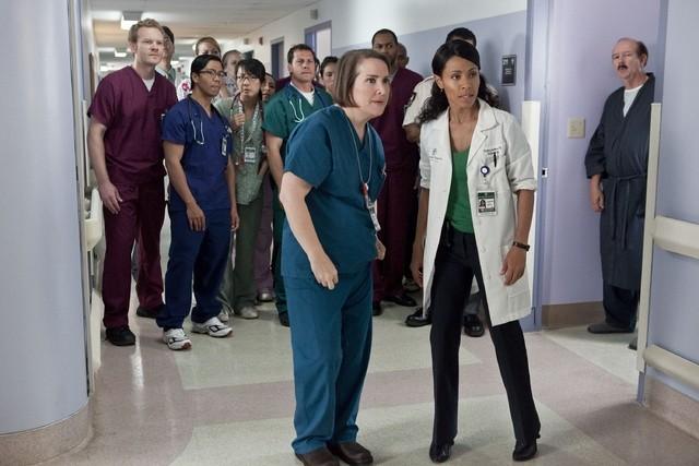 Una scena dell'episodio Healing Time di Hawthorne