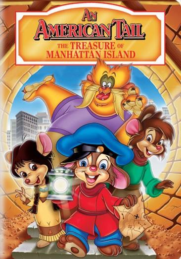 La locandina di An American Tail: The Treasure of Manhattan Island