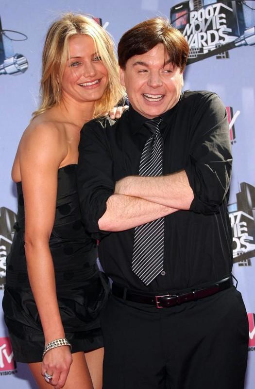 Cameron Diaz e Mike Myers agli MTV Movie Awards 2007
