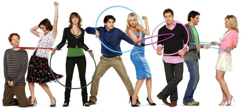 Una foto promo del cast del telefilm The Class
