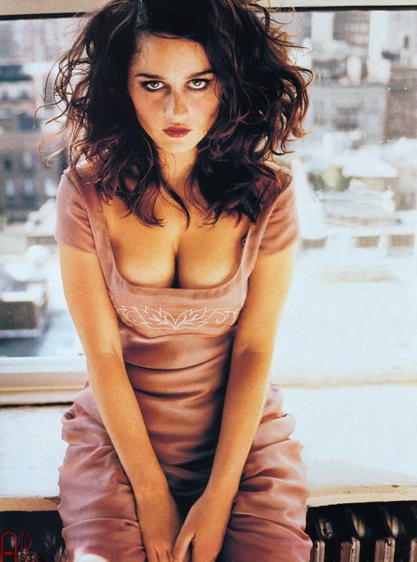 Una foto sexy di Robin Tunney