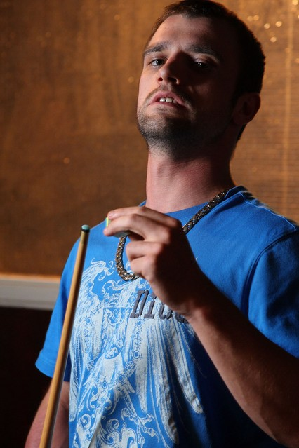 Ciaran Griffiths in una foto promozionale di Shameless.