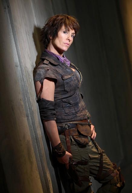 Juliet Aubrey in una foto promozionale di Primeval