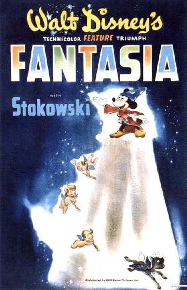 Locandina americana del 1940 del film Fantasia
