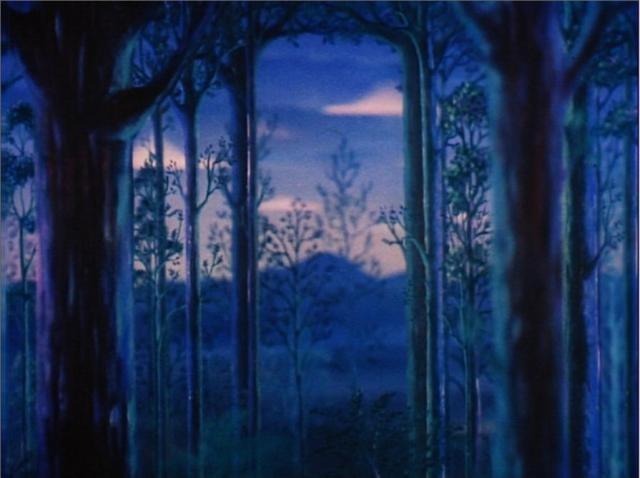 Una delle sequenze finali del film Fantasia