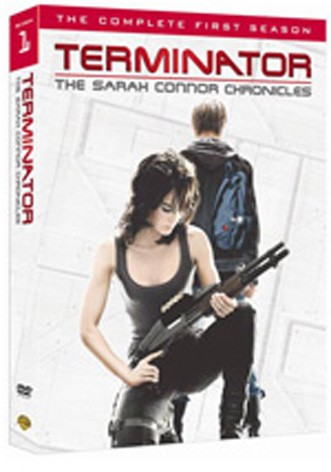 La copertina di Terminator: The Sarah Connor Chronicles - Stagione 1 (dvd)
