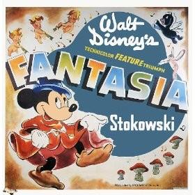 Lobbycard promozionale del film Fantasia