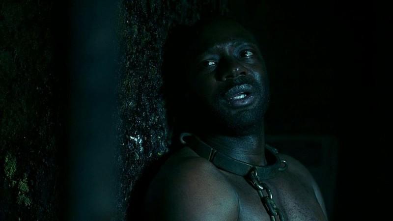 Nelsan Ellis in un'immagine dell'episodio 'Nothing But The Blood' della seconda stagione di True Blood