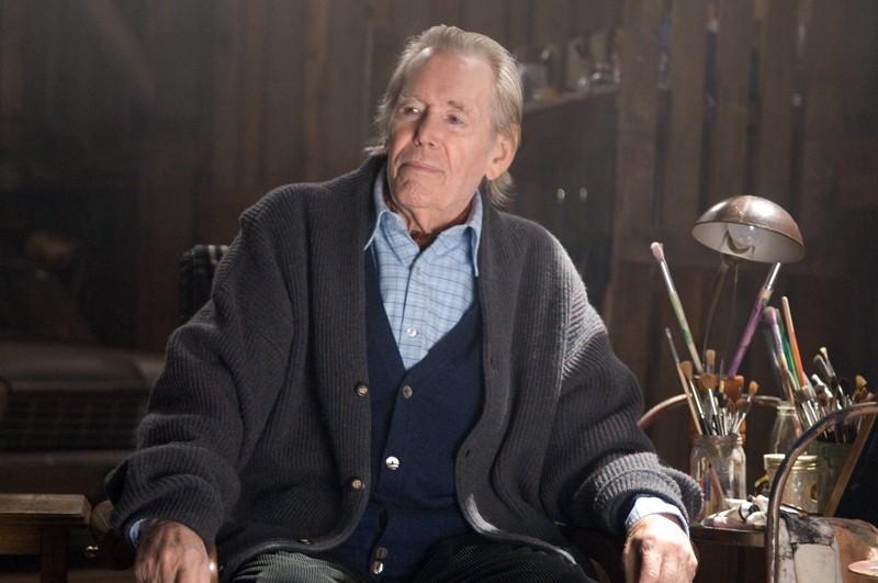 Peter O'Toole interpreta Glen Wessler nel film 'The Christmas Cottage'